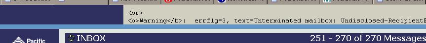 Missing HTML?