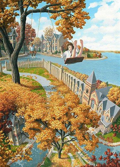 "Rob Gonsalves, ""On the Upswing\"""