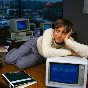 Bill Gates in Teen Beat, 1985