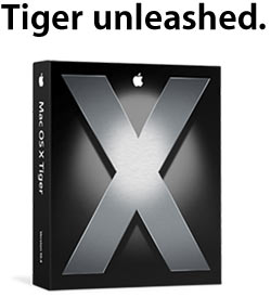 Mac OS Tiger box