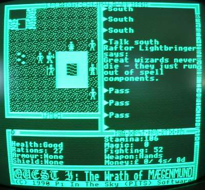 Quest I - Ultima clone for the BBC Micro