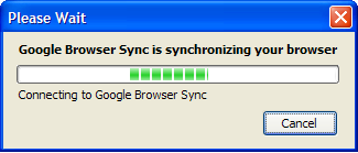 Google browser sync