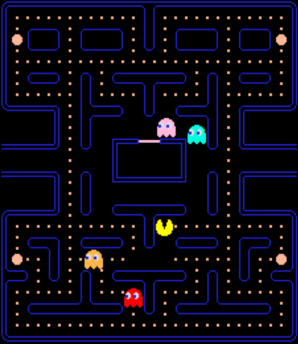 Resting in Pacman
