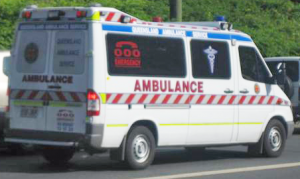 Queensland Ambulance Service vehicle