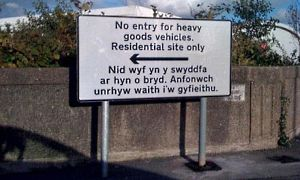 Welsh translation